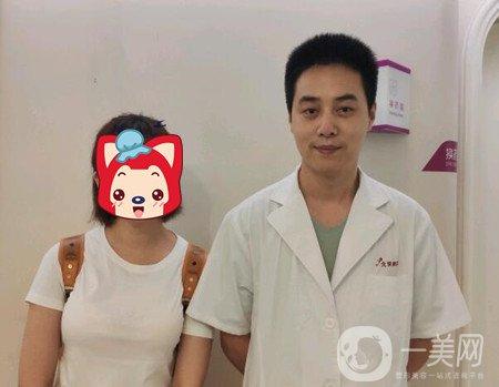 平胸妹找北京美莱宋延刚做了刚自体脂肪隆胸,丰胸效果杠杠的